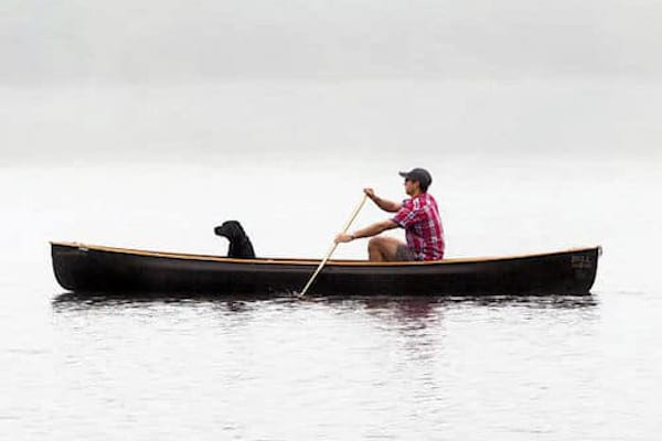 how to canoe solo
