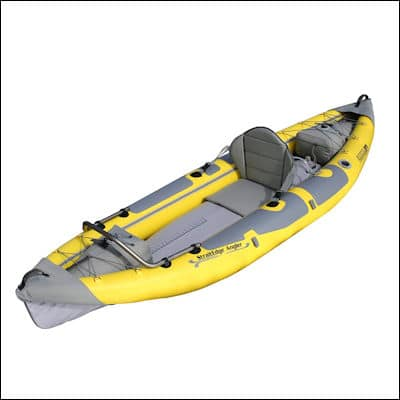 Advanced Elements Straitedge Angler Kayak review