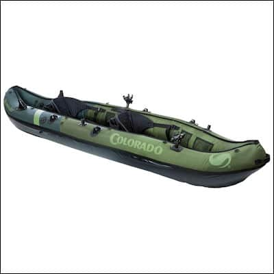 Sevylor Coleman Colorado Fishing Kayak review