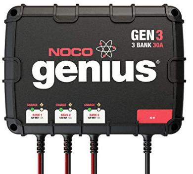 NOCO Genius GEN3 30 Amp 3-Bank Waterproof Smart On-Board Battery Charger review