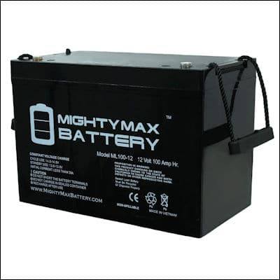 Mighty Max ML100-12 SLA review