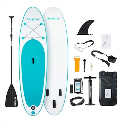 SOOPOTAY Inflatable Stand Up Paddle Board review
