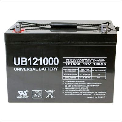 Universal UB121000-45978 battery review