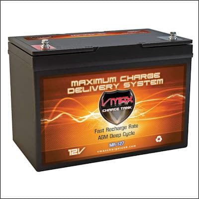 VMAX MR127 AGM Deep Cycle Battery review